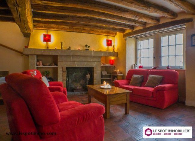 Charme et cachet Neauphle-le-Château 115 m², 4 pièces, 2 chambres  Prix : 290 000 € FAI www.lespotimmo.com
