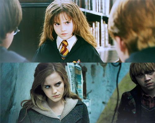 I'm always mad at him: Harry, Emma Watson, Change, Harry Potter Hermione, Hermione Granger, Potter Generation