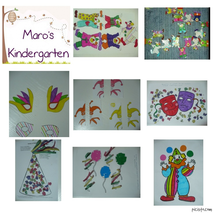 Art Girls Virtual Preschool: 78+ Images About Carnival On Pinterest