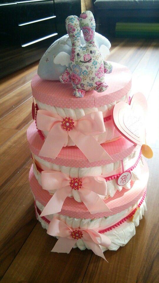 オムツケーキ Diaper cake