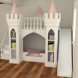 Luxury Princess Castle Bed