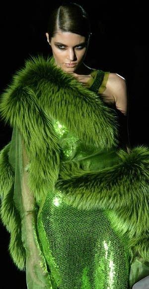 green.quenalbertini: Green Fashion