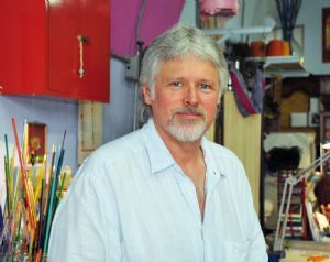 EXPATS IN FLORENCE :: Timothy James An artisan beadmaker in Florence