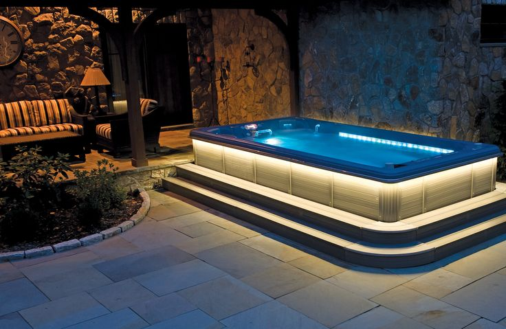 The 12 person Swim Spa by Thermospas is by far the ultimate entertainment hot tub