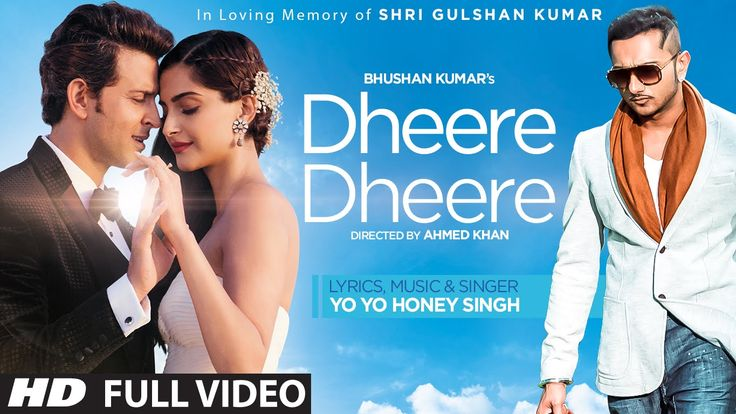 very stylish video but Honey Singh is not suitable for Hrithik. And, why couldn't you use the actual song??? Dheere Dheere Se Video Song (OFFICIAL) Hrithik Roshan, Sonam Kapoor | Yo...