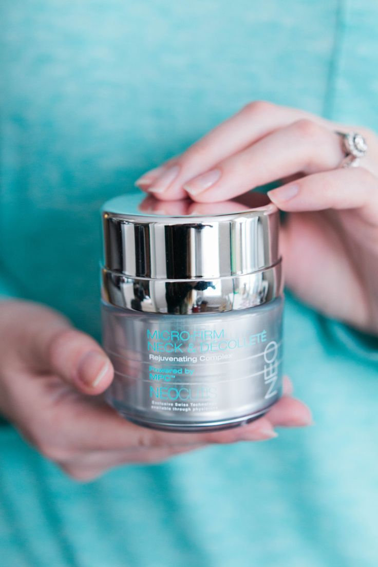 The Best Neck Firming Cream - Politics of Pretty Blog. Name:  Neocutis Micro-Firm Neck & Decollete Rejuvenating Complex only available by perscription