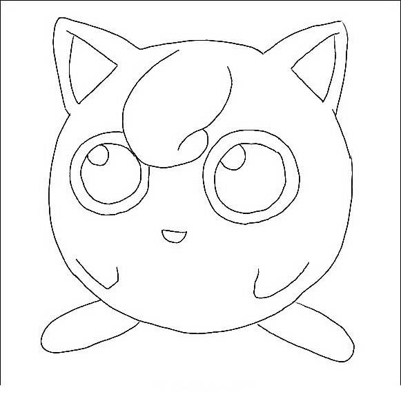 Desenhos para pintar Pokemon 80                                                                                                                                                     Mais