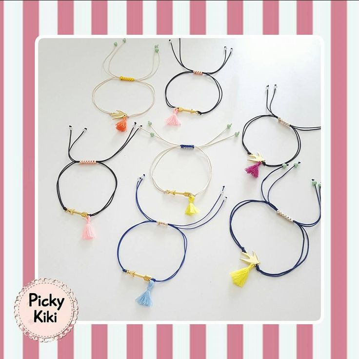 Spring time bracelets in many colors   Picky Kiki Handmade Accessories & Street Fashion Blog