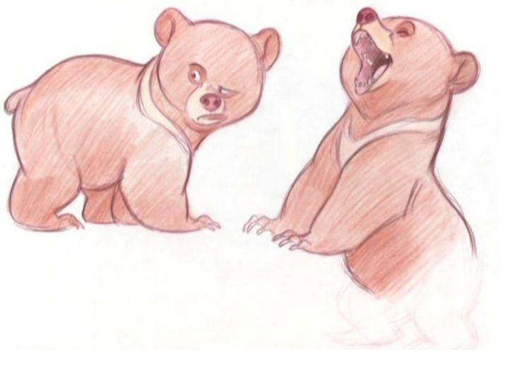 Brother Bear Concept Art