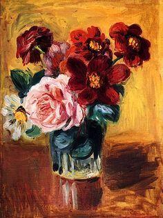 renoir still life flowers - Google Search