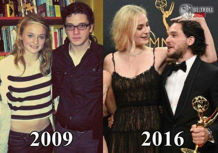 Les héros de Game of Thrones ont changé... - Be-troll - vidéos humour, actualité insolite