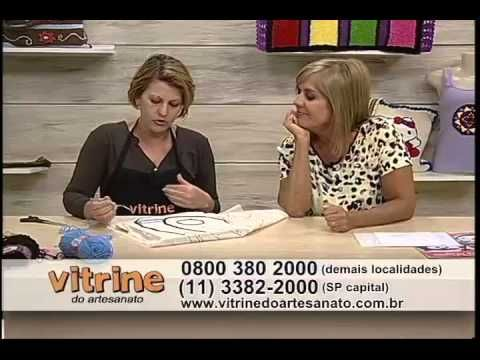 Tapete Borboleta com Tânia Silva - Vitrine do Artesanato na TV