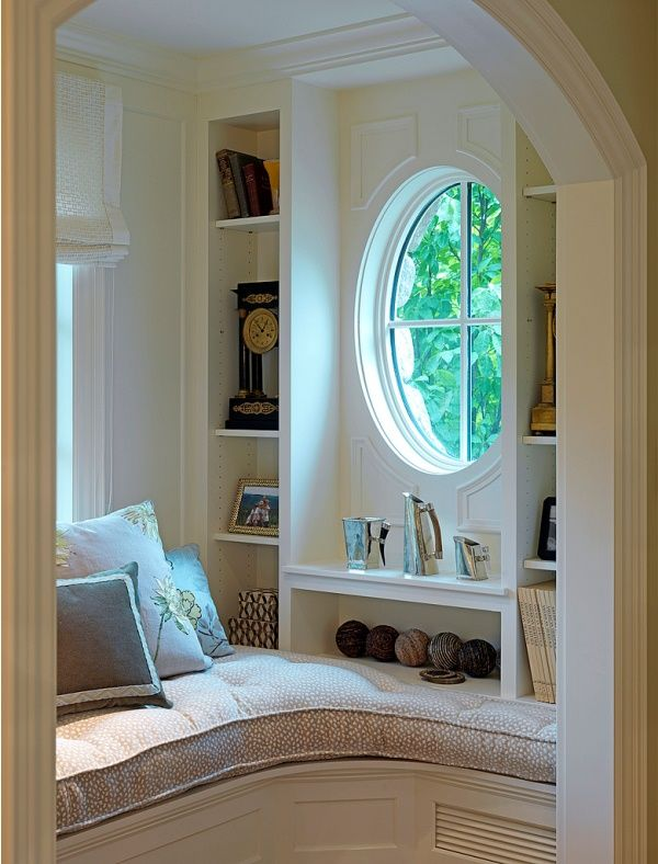 200 best images about reading nooks on pinterest good Window seat reading nook