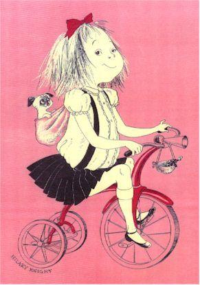 EloiseBicycles, Favorite Places, Eloi At The Plaza, Eloise, Art, Kids, Book Illustration, Children Book, Style Blog