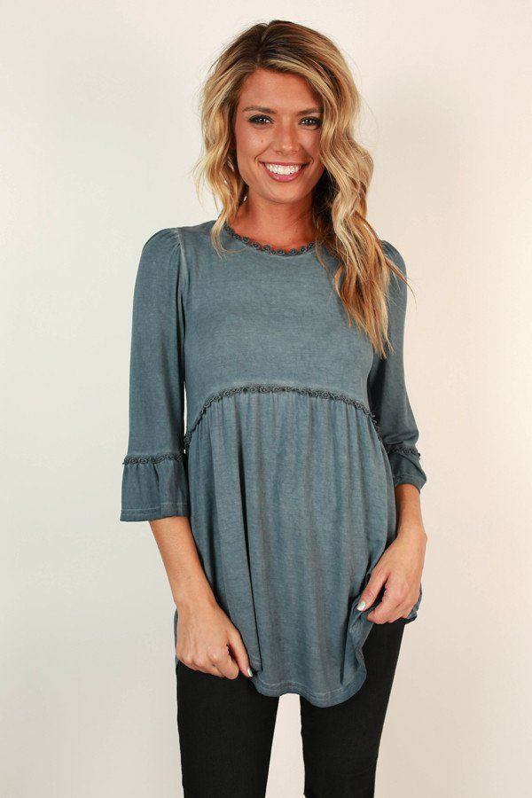 Burst Of Energy Babydoll Top in Riverside - Best 25+ Babydoll Tops Ideas Only On Pinterest Mom Clothes