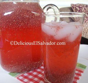 Fresco de Chan/Chan Red Lemonade! A traditional Salvadoran drink!