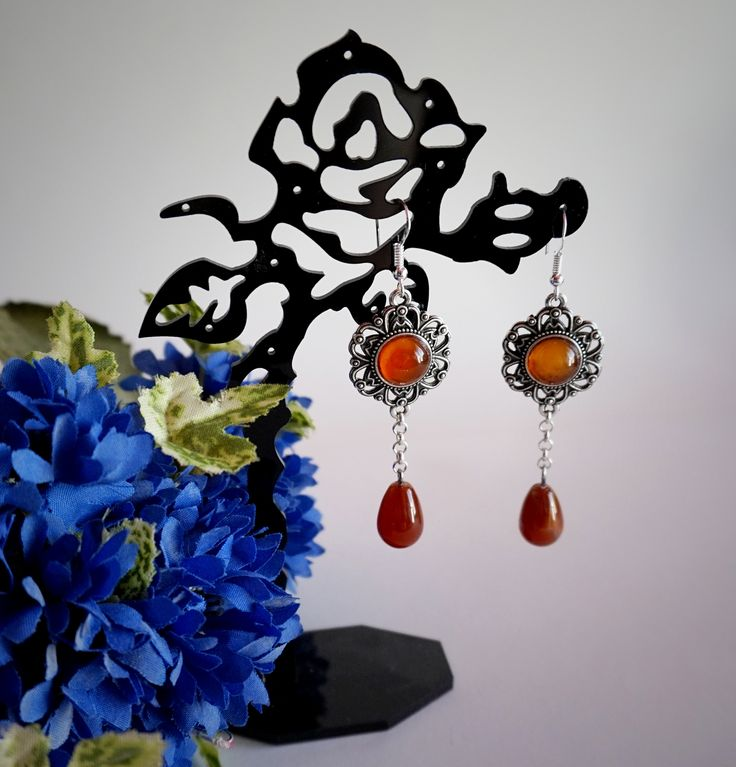 Sunset Flames Earrings