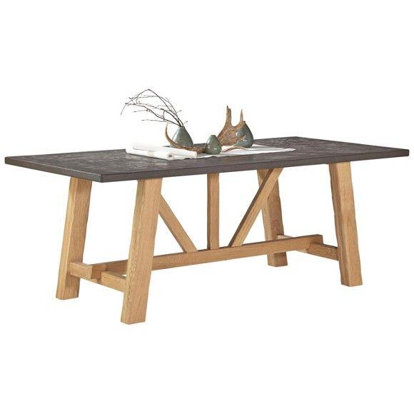 tisch mit betonoptik tischlerei budinski einrichtung tischlermeister alen budinski funekestr 1. Black Bedroom Furniture Sets. Home Design Ideas