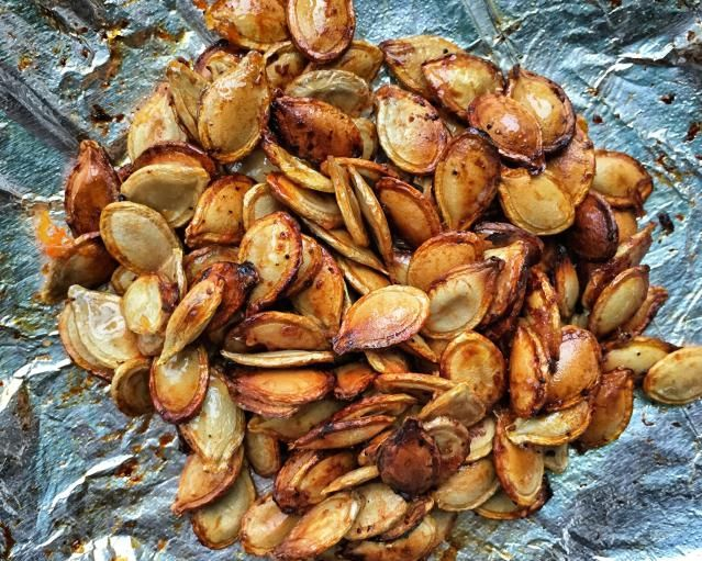 Recipe for Easy and Delicious Twice Roasted Pumkin Seeds