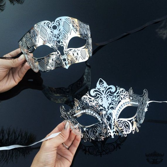 Couples Masquerade Mask Masquerade Mask Masquerade by 4everstore
