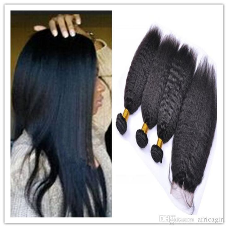 9a Peruvian Kinky Straight Hair With Closure 100% Virgin Human Hair Weave Italian Coarse Yaki With 4x4 Free Part Closure Top Lace Closure Lace Front Weave From Africagirl, $0.98| Dhgate.Com