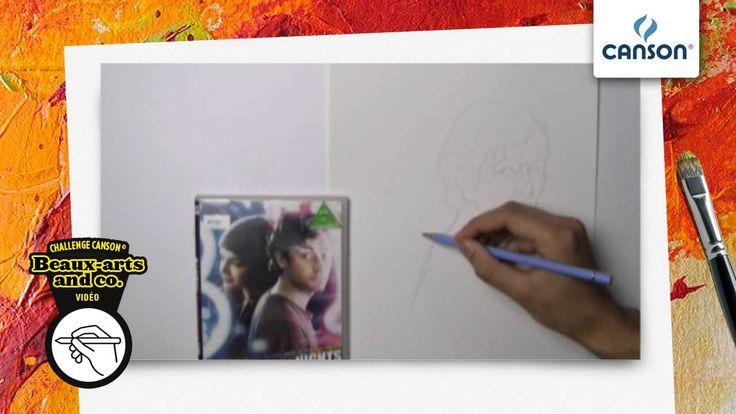 Comment harmoniser les couleurs d'un dessin sur papier Canson?