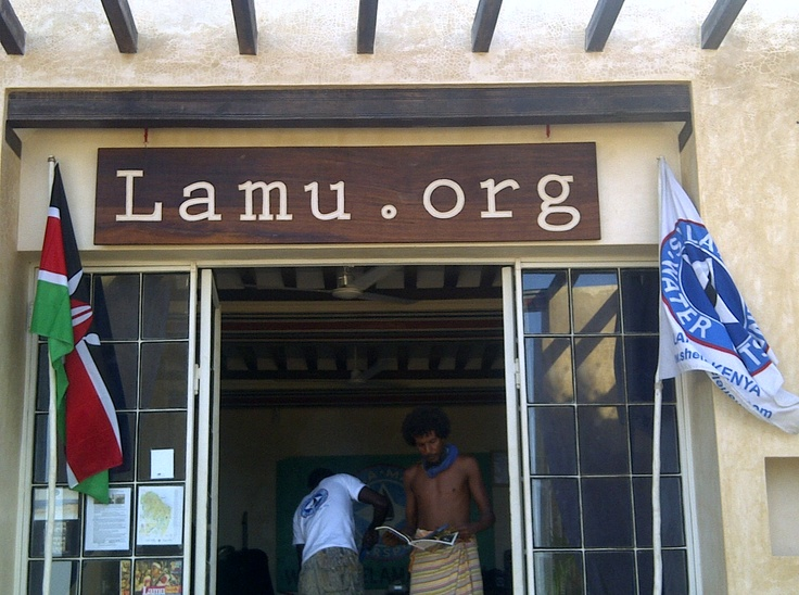 Lamu.org Waterfront Office in Shela Village, Lamu Island