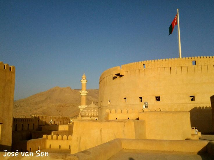 Nizwa Fort- Oman : Nizwa Fort is probably the best destination to visit for anyone wishing to explore how Omani used to be like in the old times and is one examples of how life still remains somewhat unchanged in villages outside the capital.  Nizwa is about an hour from Muscat and can be done as a day trip that includes a visit to Nizwa Souq, Misfat Al Abriyeen, or any of the many other destinations in the interior of Oman.