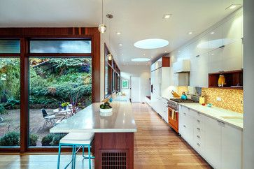 Wurster House Addition & Renovation - modern - kitchen - san francisco - Jennifer Weiss Architecture