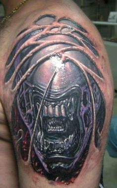 Image detail for -3d Alien Tattoo Design Ideas - Unique Alien Tattoo Designs ...