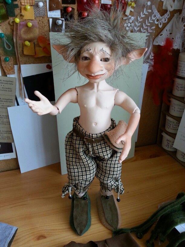 It's hot :) #bjd #bjdboy #malebjd #goblin #fantasy #balljointed #doll