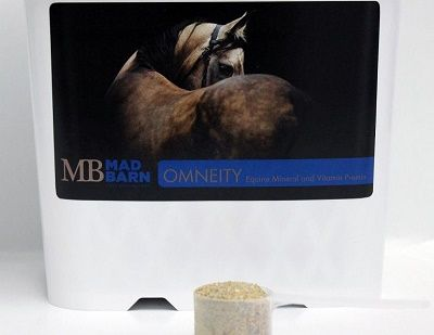 Omneity Equine Mineral and horse Vitamin Premix mad barn horse products mad barn nutrition equine horse antioxidants, equine antioxidants, organic horse feed organic horse supplement