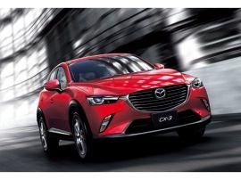 マツダが、2015年に発売したコンパクトSUV「CX-3」。国内では、独自の高効率クリーンディーゼルエンジン専用車とした。が、ガソリン車が追加、200万円を切る価格で登場か?