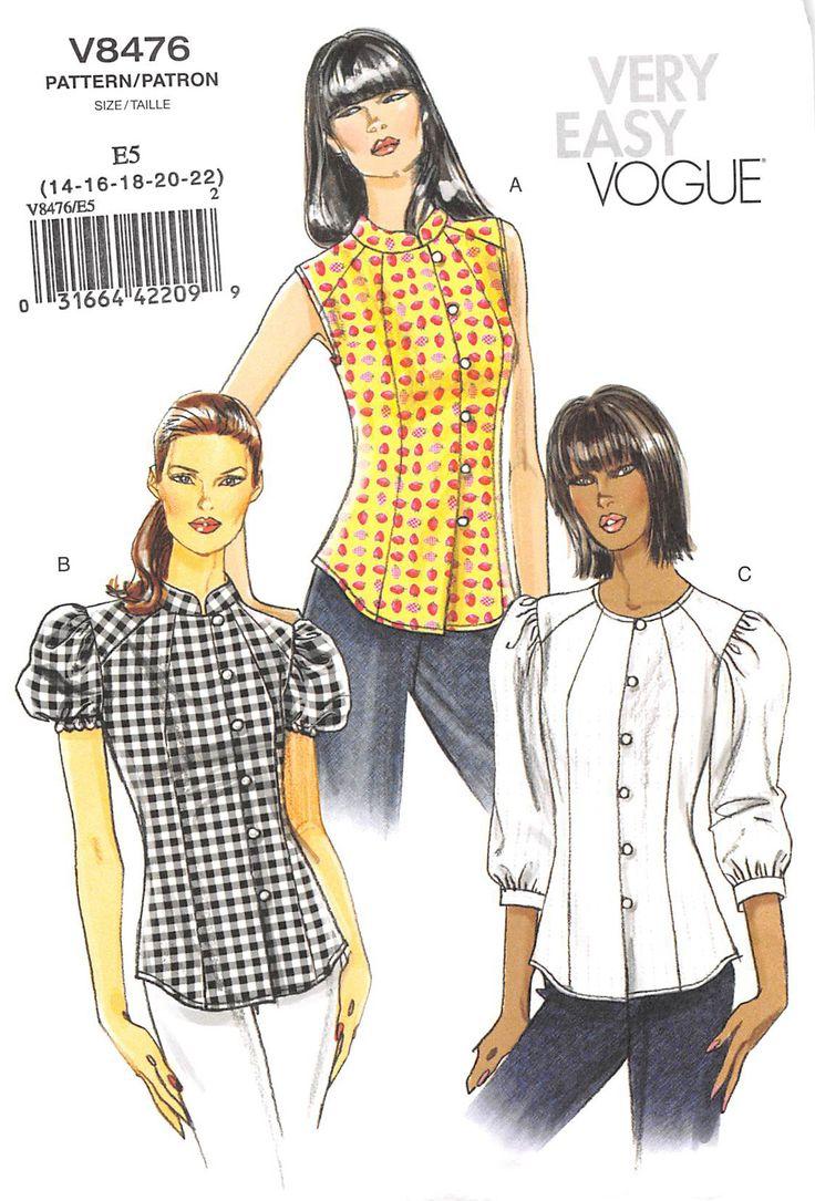 47 besten Vogue Patterns Bilder auf Pinterest   Nähideen ...