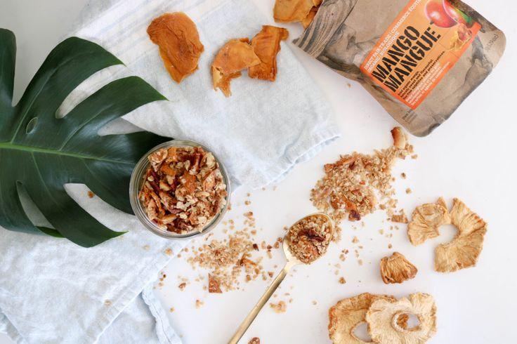 Tropical Treat Granola - Lindsay Pleskot, RD. Vancouver Registered Dietitian