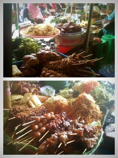 Traditional Food, Jogjakarta Indonesia.