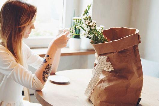 Sroka shopper bag – naturalny
