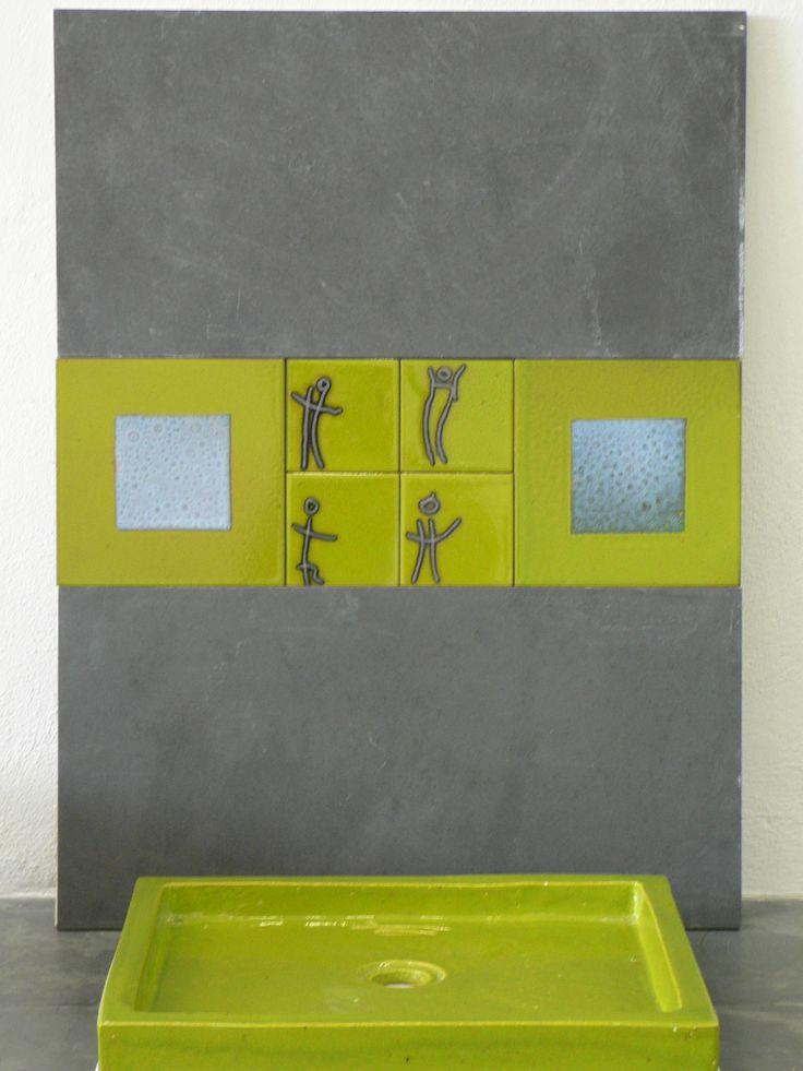 Lavabos cuadrados a medida
