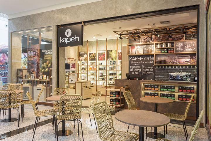 Kapeh store by Estúdio Jacarandá, Varginha – Brazil