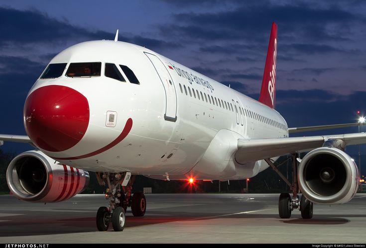 Airbus A320-232 SP-ADK 1723 Kraków John Paul II Balice Int'l - EPKK