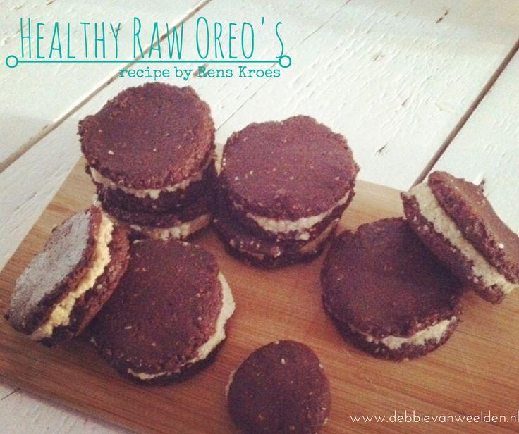 Recept Raw Oreo's van Rens Kroes