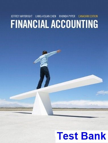 78 best test bank download images on pinterest financial accounting first canadian edition canadian 1st edition waybright test bank test bank solutions fandeluxe Image collections