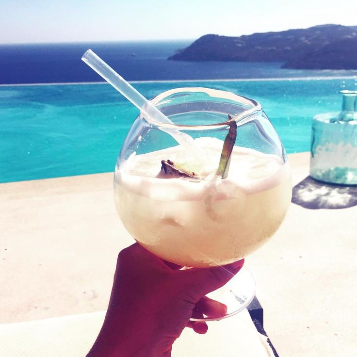 Pina colada with a view!