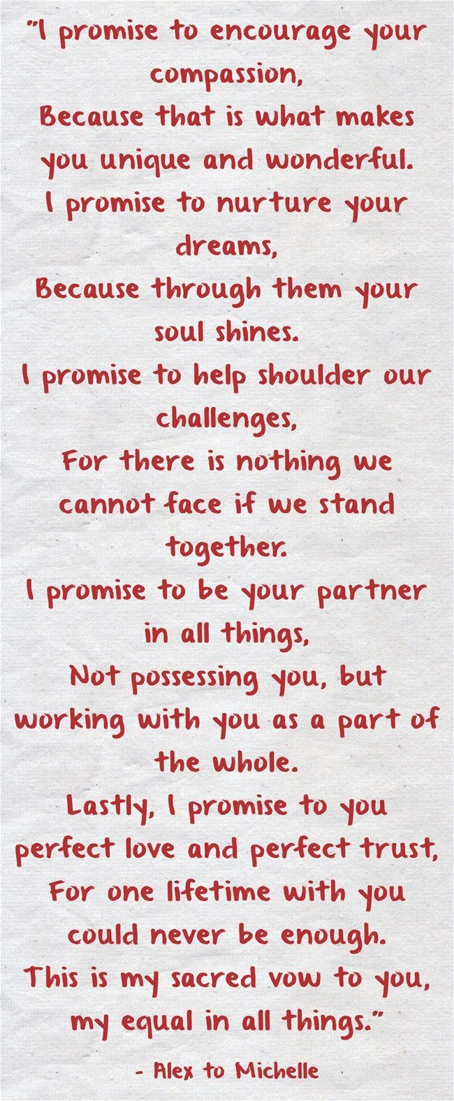 Wedding Quotes Vows 25 Heart Melting Real Couple Vow Ideas To Make