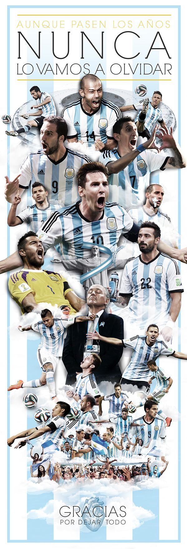 Thanks Argentina! on Behance