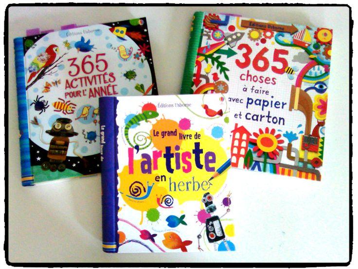 livres de loisirs créatifs, editions Usborne, activités enfants