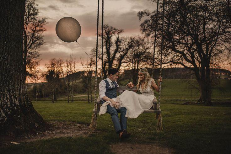 Boho elegant wedding at Tankardstown House | Image by Tomasz Kornas