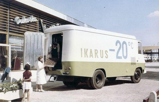 Ikarus 404-es hűtőkocsi prototípus, Csepel fődarabokkal