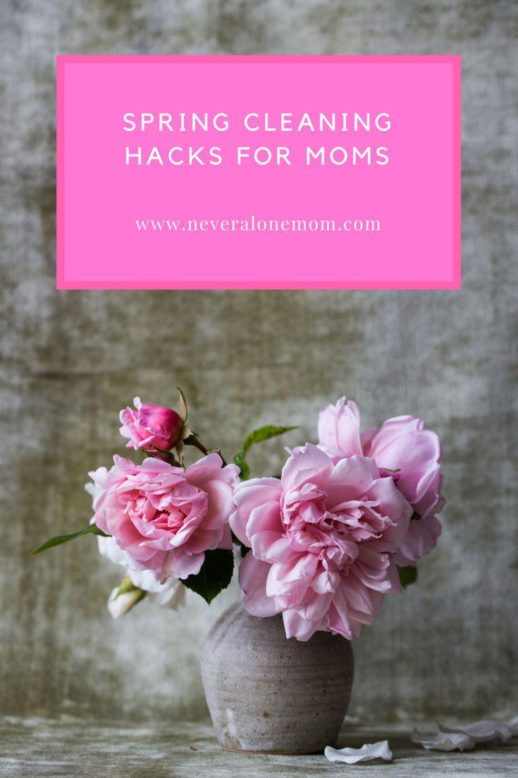 It's that time of year for spring cleaning! Check out my list of hacks to make it easier for you busy moms!