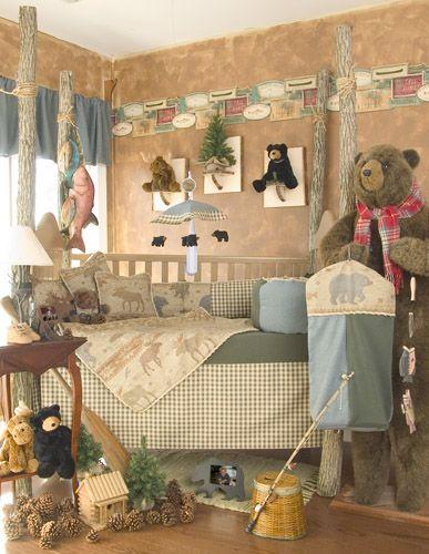 Bear And Moose Baby Shower Glenna Jean Kodiak 5 Piece